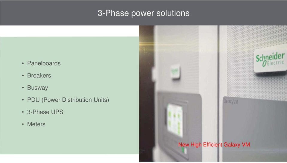 (Power Distribution Units)
