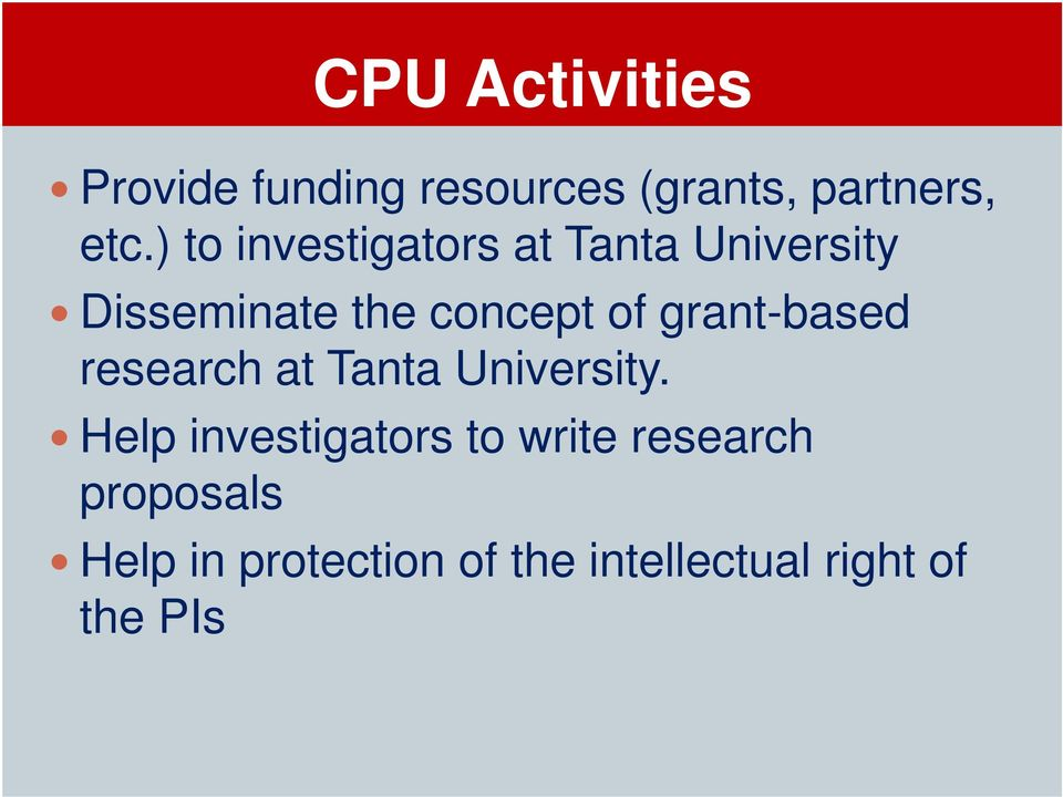 grant-based research at Tanta University.