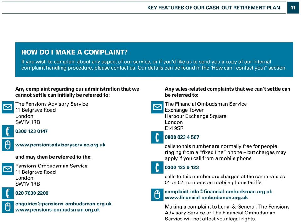 Our details can be found in the How can I contact you? section.