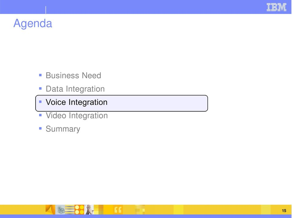 Voice Integration