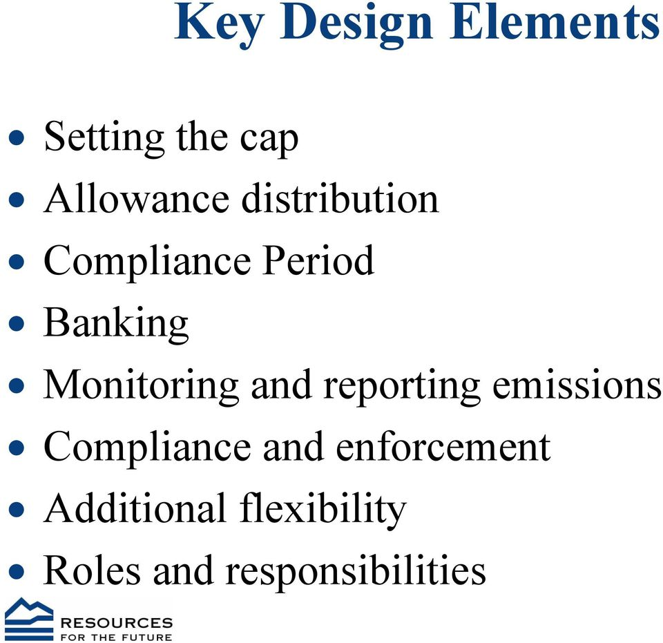 Monitoring and reporting emissions Compliance