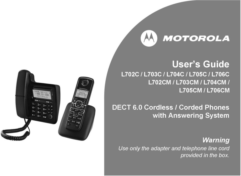 0 Cordless / Corded Phones with Answering System