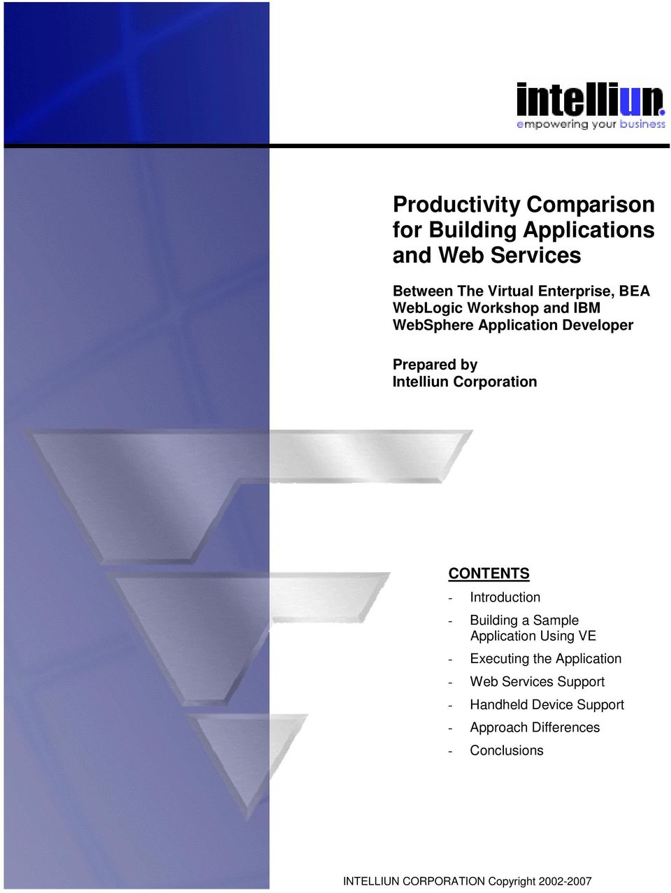 Introduction - Building a Sample Application Using VE - Executing the Application - Web Services