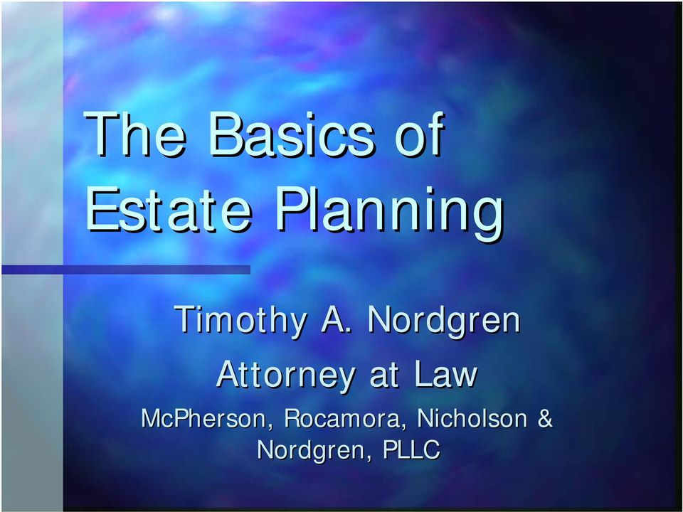 Nordgren Attorney at Law
