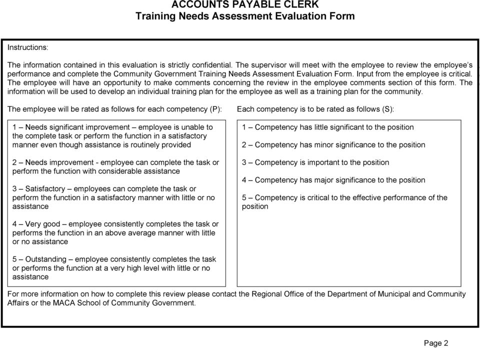 Evaluation Assessment Form. Evaluation Input form Form. the Input employee from the is critical. employee The is employee critical.