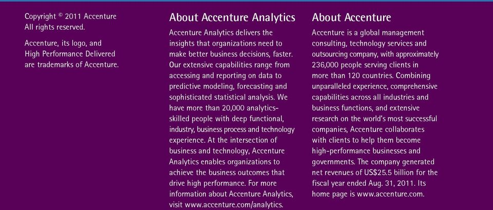 Our extensive capabilities range from accessing and reporting on data to predictive modeling, forecasting and sophisticated statistical analysis.