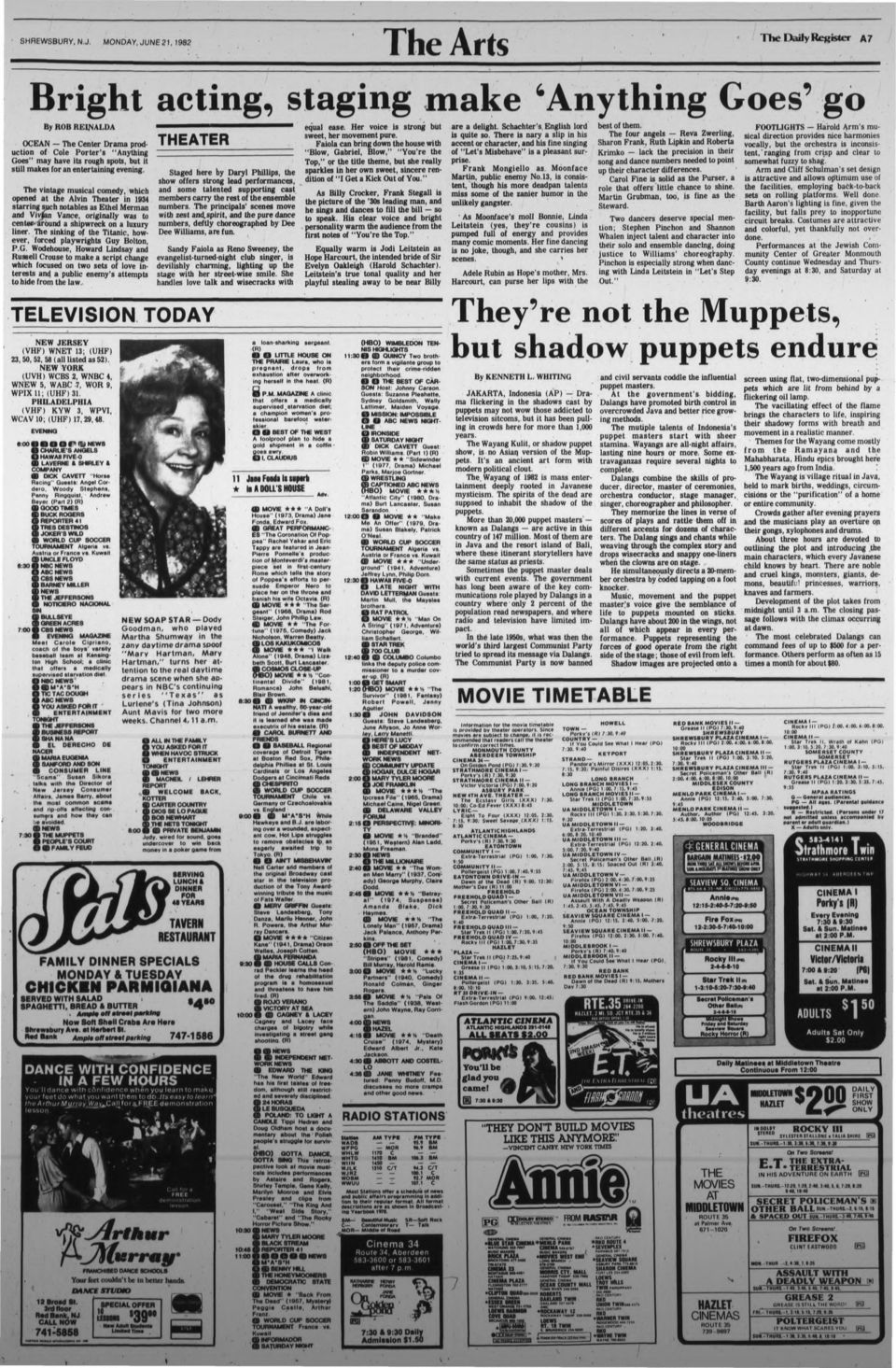 5f8a71bf45 The Daily Register Monmouth County s Great Home Newspaper VOL.104 NO ...