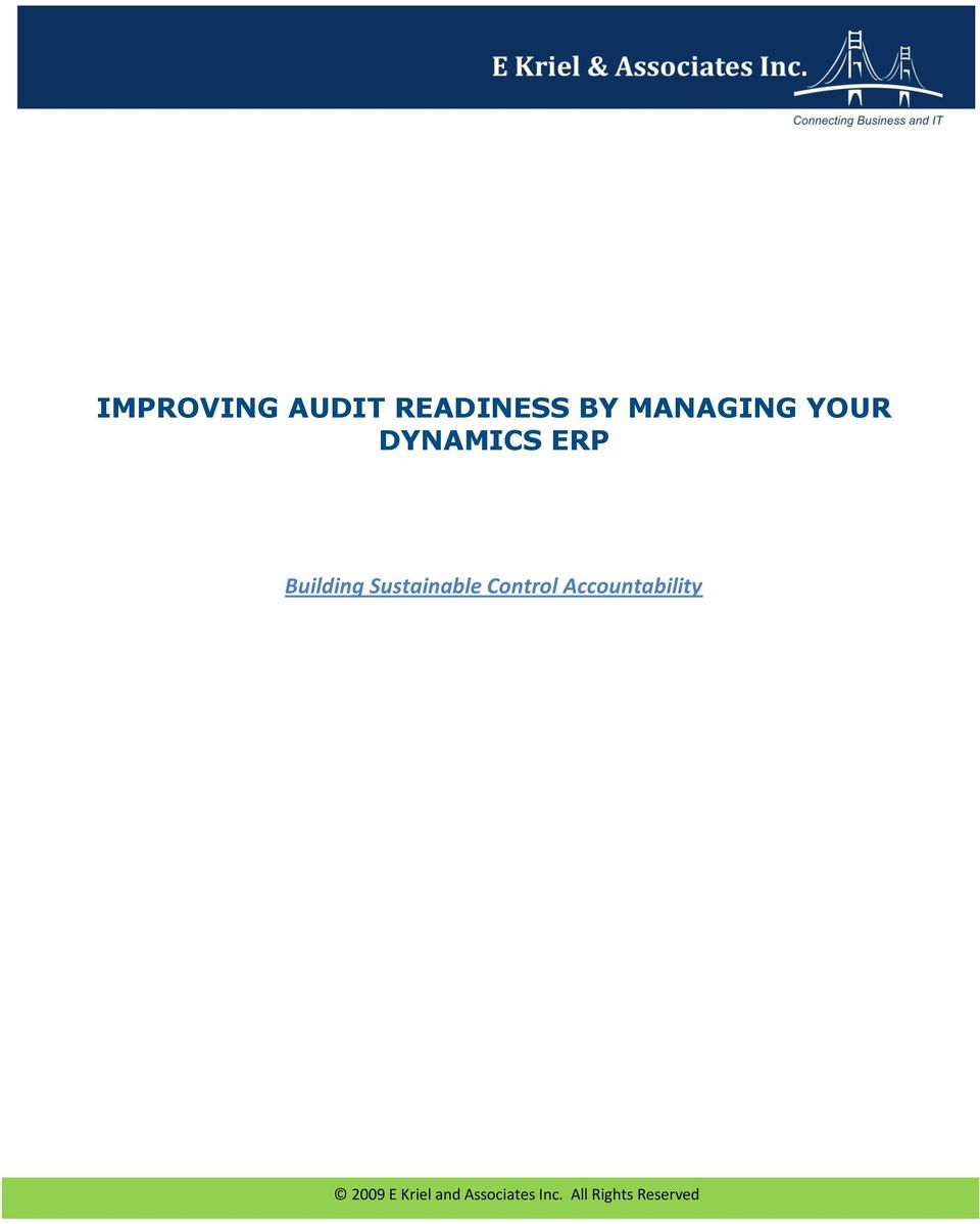 YOUR DYNAMICS ERP