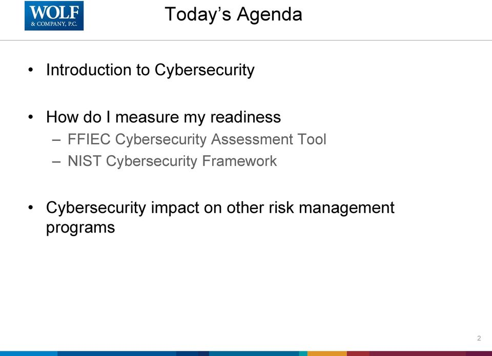 Assessment Tool NIST Cybersecurity Framework