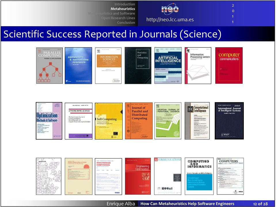 Journals (Science) Enrique