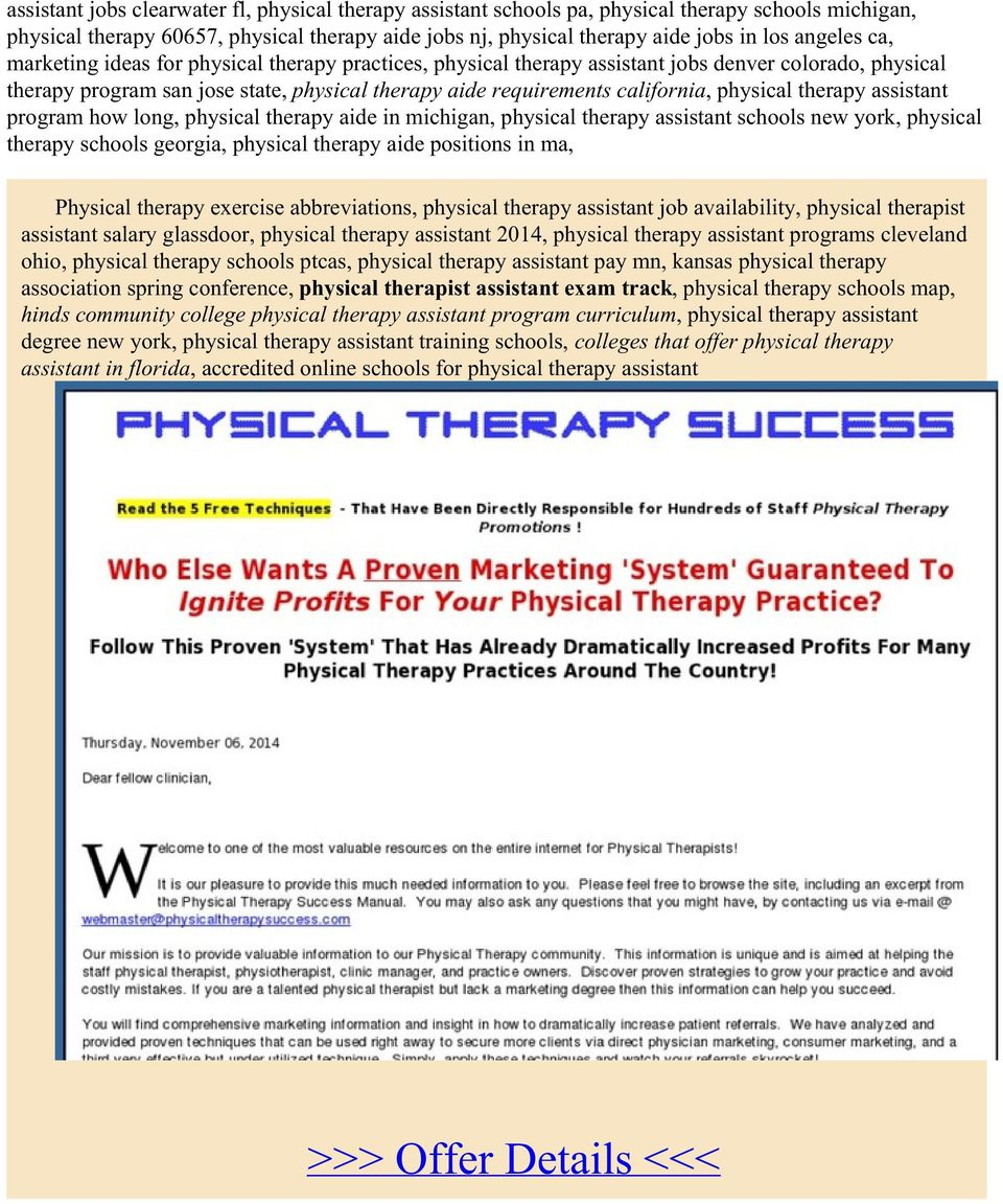 physical therapy assistant program how long, physical therapy aide in michigan, physical therapy assistant schools new york, physical therapy schools georgia, physical therapy aide positions in ma,