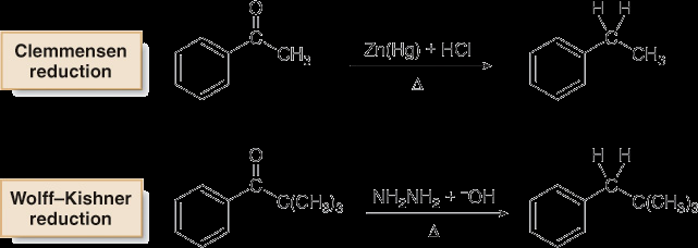 Synthetic Applications of FC-Acylation Primary alkyl halides often yield rearranged products in Friedel- Crafts alkylation which is a major limitation of this reaction 1.