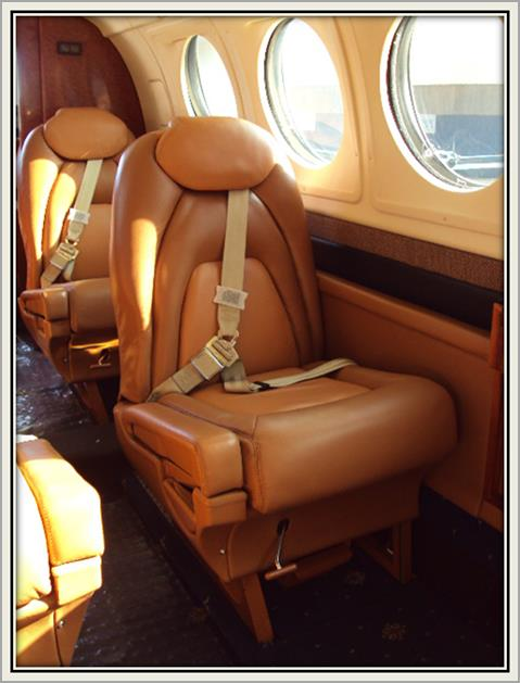 INTERIOR REFURBISHMENT Bionic Aviation offer the following Interior Refurbishment services: We specialize in upholstery of seats and couches and Custom Seat Designing VVIP and VIP interior