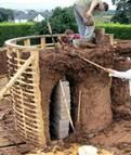 [3] Eco Building Systems Examples: Hempcrete & Earth Buildings (Rammed Earth, Cob & Earth Bag) Buildings constructed using natural materials such as Hemp Stalks & Lime, Straw, Clay & Sand, and Sturdy
