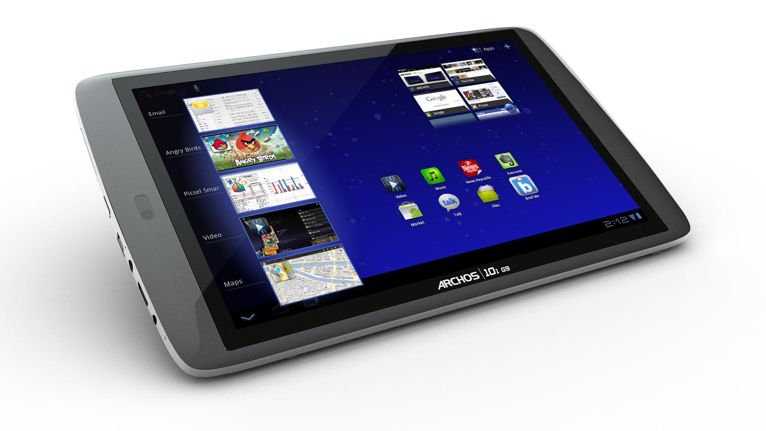 Thanks to its powerful dual-core ARM Cortex TM A9 processor, the ARCHOS 101 G9 browses the web up to 50% faster than standard Nvidia Tegra 2 TM tablet.