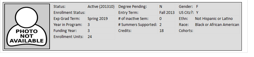 Updated Year in Program and Funding Year in Program We ve made a change to the way YIP (Year in Program) is calculated. It now counts all of the active semesters at the student s current degree level.