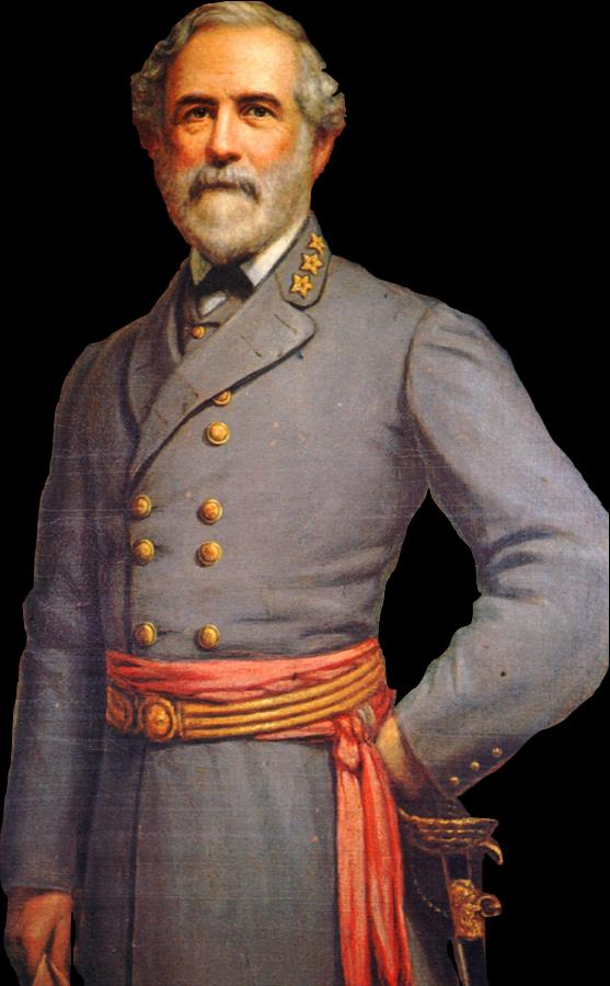 Robert E. Lee was a West Point graduate and U.S. military officer at the start of the war.
