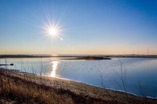 Salt Ponds Restoration improves habitat and quality of life Commercial salt ponds like Eden