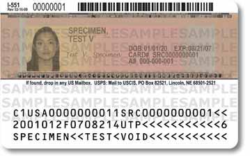 Permanent Resident Example: Permanent Residents will present their Form I-551 Permanent Resident Card or Alien Registration Receipt Card, which is a List A document.