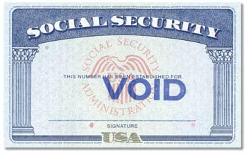 U.S. Citizen Presenting a Social Security Card (List C document) Example: Social Security Number The U.S. Social Security account number card is issued by the Social Security Administration (older versions were issued by the U.