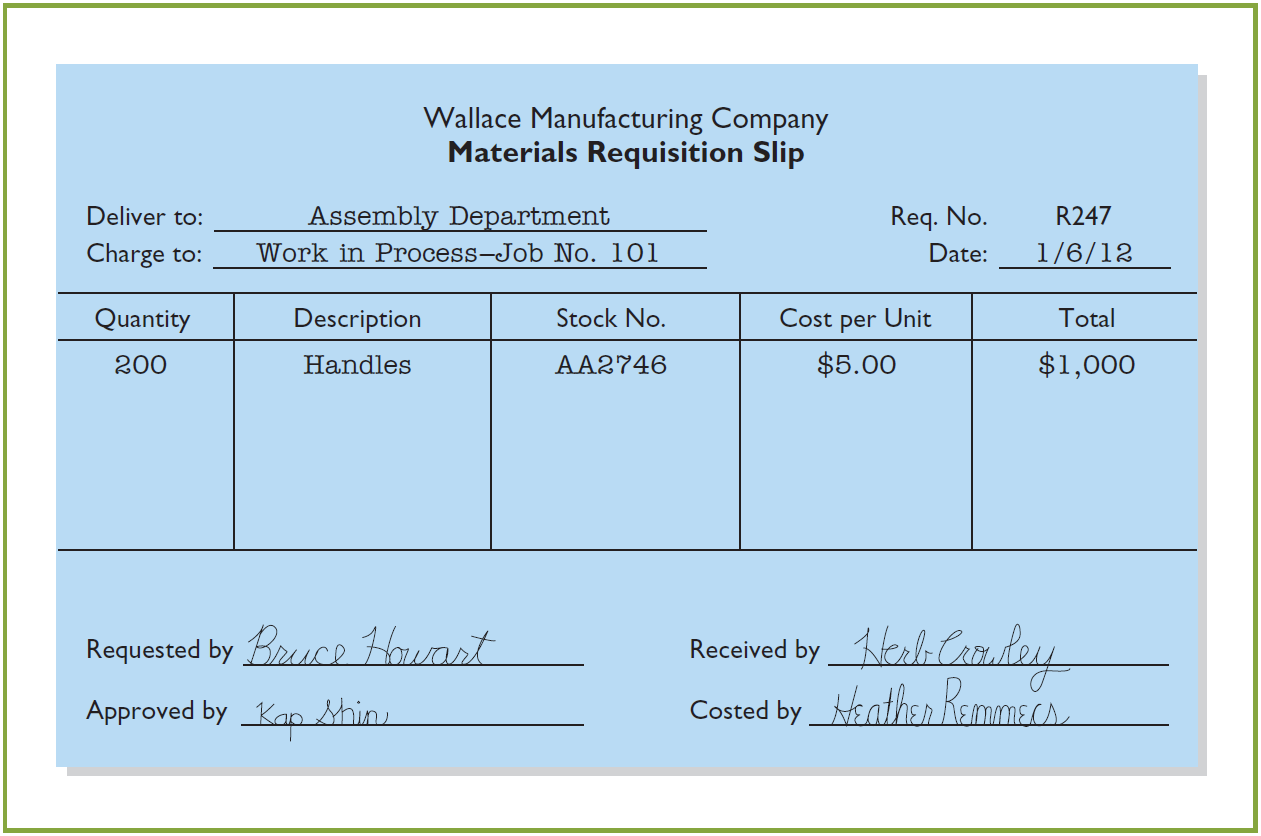 Assigning Manufacturing Costs to WIP Illustration 20-6