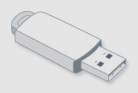 The hard disk drive is normally located inside the system unit. HARD DISK DRIVE A USB (universal serial bus) flash drive is a small, portable device that plugs into a computer's USB port.