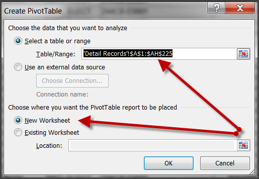 and click OK. Excel will create a new worksheet with the generic name Sheet# (i.e. Sheet1, Sheet2 depending on the sheets you already have in your workbook).