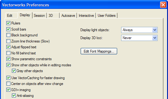 Exercise 2: Adjusting Preference Settings In this exercise, you verify and adjust program preferences.