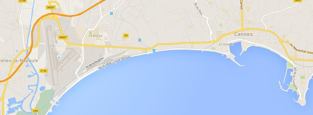 MAP OVERALL HOTEL NAME NUMBER ON MAP COMFORT SUITES CANNES MANDELIEU 1 BEST WESTERN CANNES RIVIERA 2 4 STAR HOTELS 3 STAR HOTEL 2 STAR HOTEL