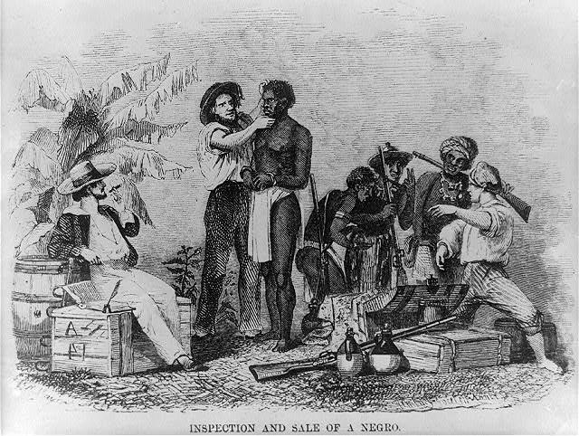 Slavery began when the first set of slaves had arrived to the US