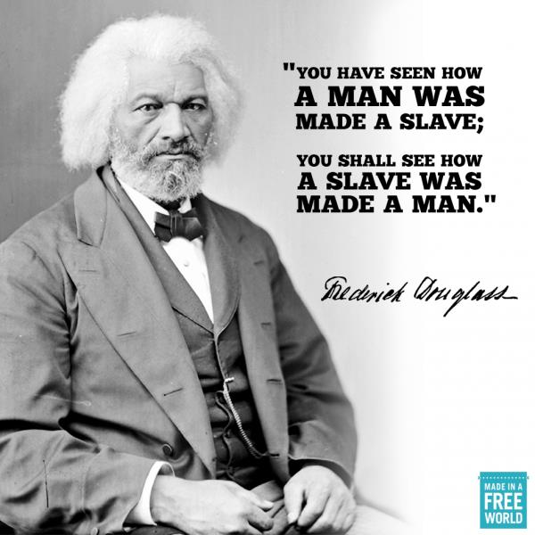 Frederick Douglass was an African- American social reformer, abolitionist, orator, writer, statesman, and former slave. Was one of the first African American to hold a high U.