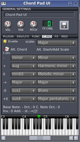 Chord Pad for LMMS Table of Contents Motivation   2 Chord Pad: The