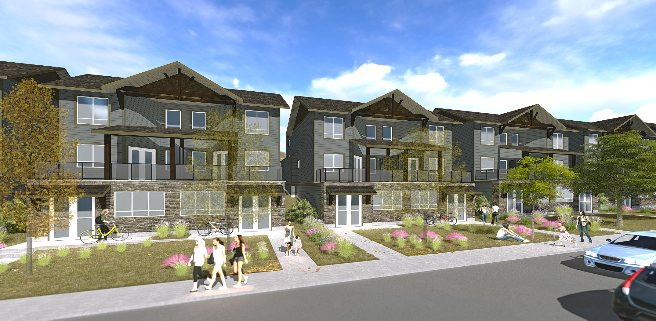 Live/Work Townhomes in Lake Country Limited offering of only sixteen units work where you live or acquire for rental opportunity!