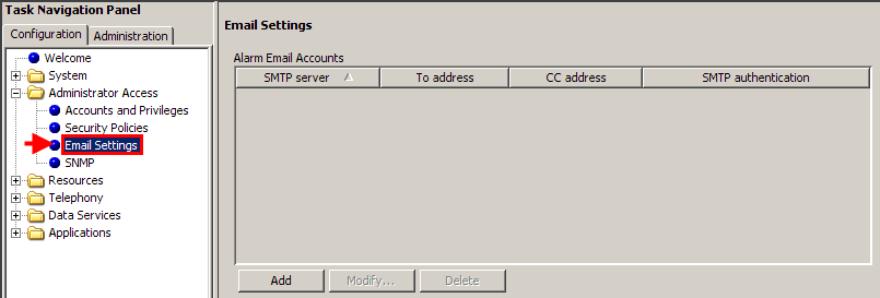 Sending Recordings to an Email Account To send any recorded calls to an Email account, you must first add the email server details into the Email Settings page within
