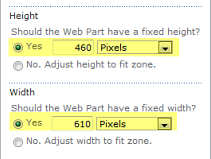 Use the Web Part When yu insert the Web Part n the page, yu must mdify it t indicate the map yu want it t display.