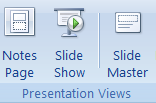 PowerPoint Task: E-vents part 2 (Start by opening your myevents PowerPoint from Part 1) 14 You are going to edit the master slide. This allows all slides to be formatted at once.