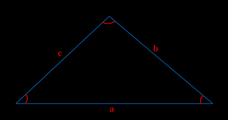 Triangle A triangle is a geometrical figure. Tri means three. So Triangle is a geometrical figure having 3 angles. A triangle is consisting of three line segments linked end to end.