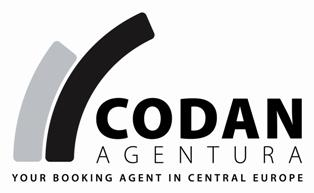 YOUR BOOKING AGENT FOR CENTRAL EUROPE Codan Agentura, Provaznicka 11 Prague 1 110 00