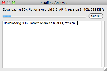Step 1: Installing Titanium And Your SDK Alternatively, from the Finder, click on android, inside the tools folder, in your Android SDK folder.