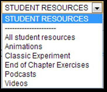 8 You can also access these resources from through the Course Materials page. Click the COURSE MATERIALS tab (or click the Course Materials link on the home page if available).