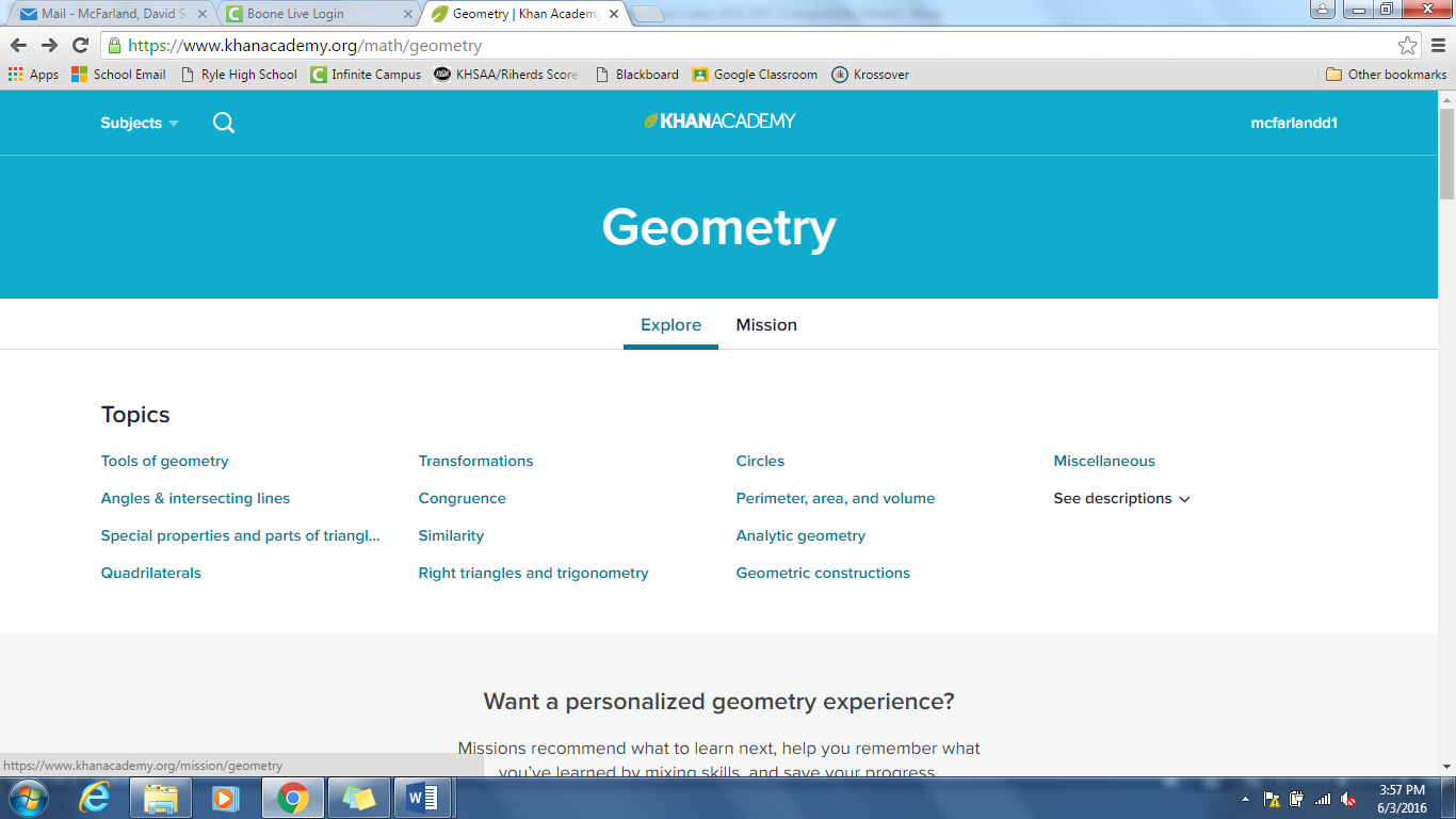 5. Let s say you selected Geometry.