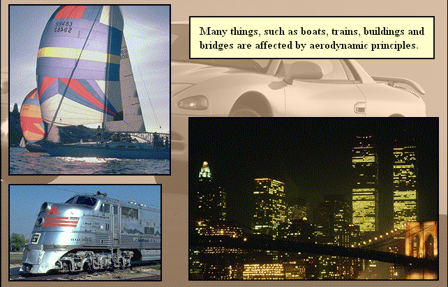 Many things, such as boats, trains, buildings, bridges sports, and are