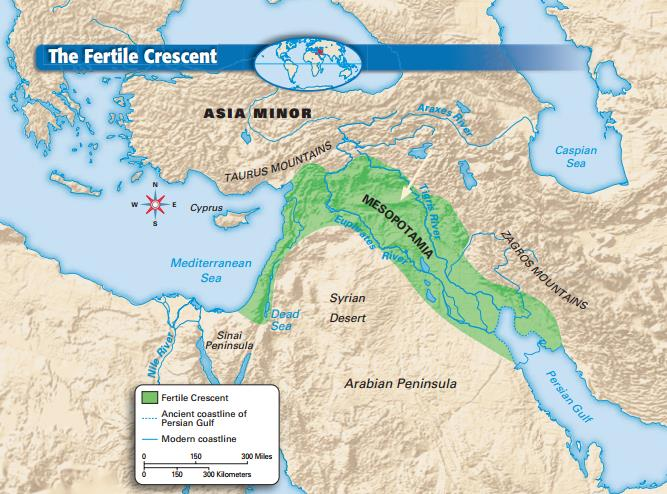 Rivers Support the Growth of Civilizations The Tigris and Euphrates rivers are the most important physical