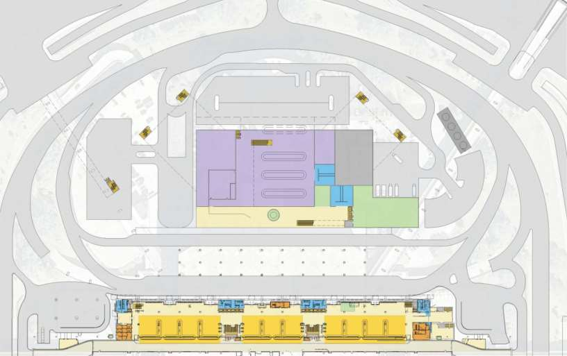 Master Plan Phase III: Expansion Tampa International Airport Customs and Baggage Claim Level CBP Offices CBP Offices MEP (Central Plant) Cooling Towers International