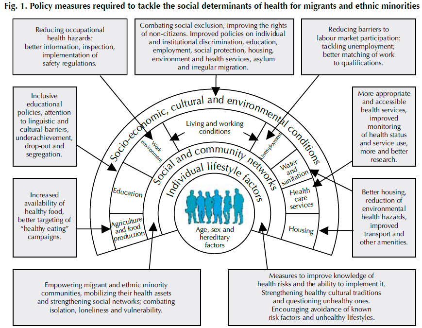 Migration as a social determinant of health Source: How health systems can address health