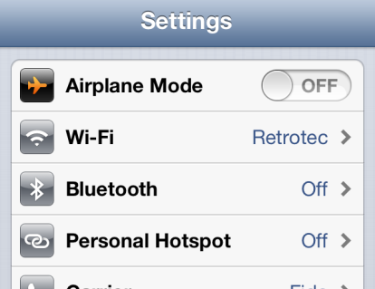 At this instance, the WiFi hotspot icon will appear in the notification bar, as shown below: 3.1.3.2.