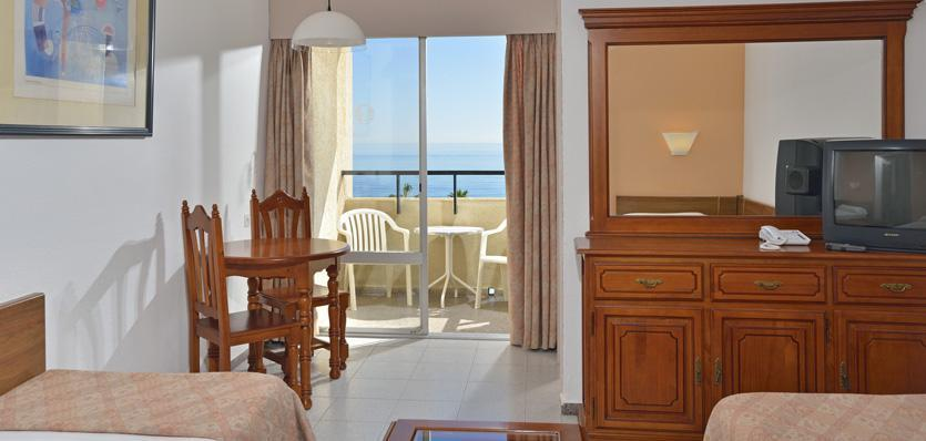 SOL TIMOR 3* 22 days from : $999* Rating: Standard Region: Torremolinos Studio or one bedroom apartment No meals The Sol Timor on the Carihuela Beach is neighbor to the Aloha Puerto.
