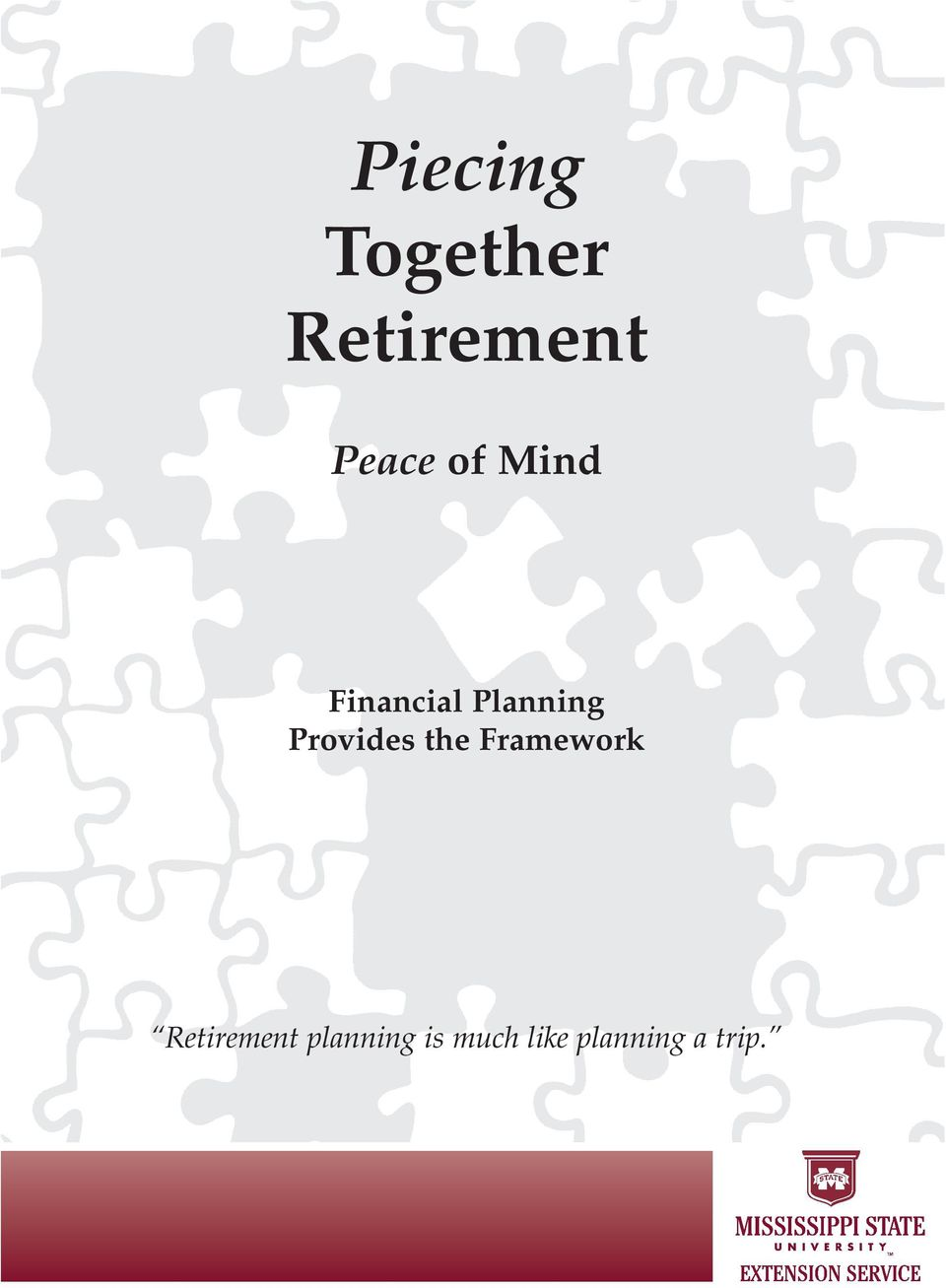 Provides the Framework Retirement