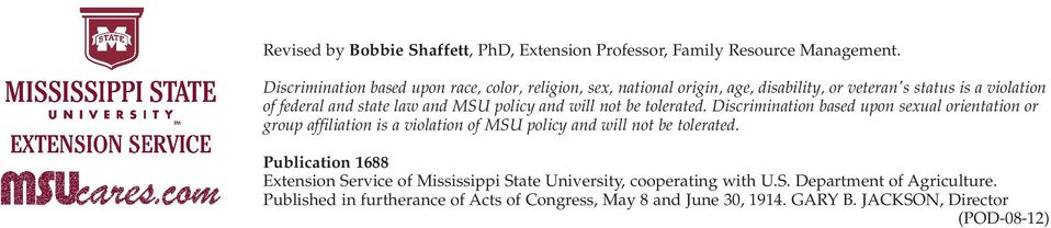 MSU policy and will not be tolerated.