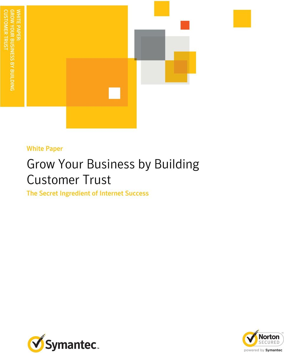 Grow Your Business by Building Customer